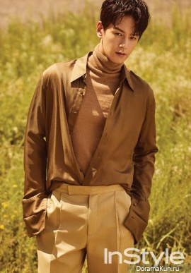Im Joo Hwan для InStyle September 2017