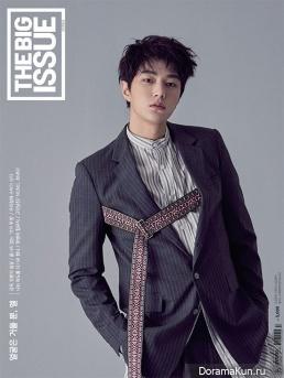 L (Infinite) для The Big Issue August 2017