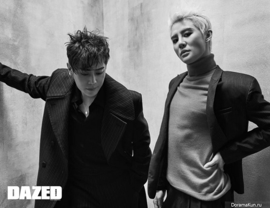 Junsu (JYJ), Han Ji Sang для Dazed January 2017