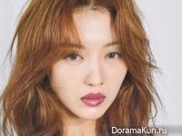 Jang Hee Jin для Grazia October 2017