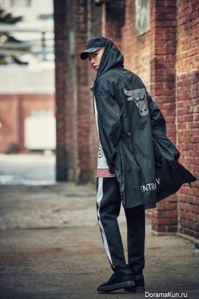 Jay Park, Heize для NBA Style 2017 S/S