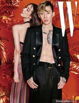 Jay Park для W Korea March 2017