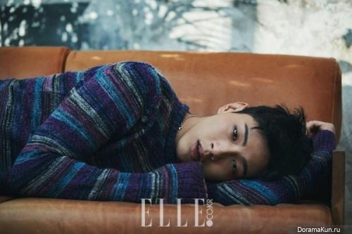 Ji Soo для Elle February 2017