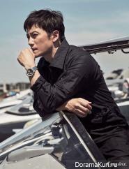 Ji Sung для Esquire August 2017