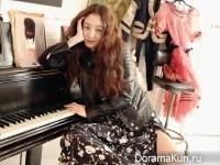 Jung Ryu Won для Cosmopolitan March 2017