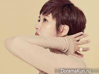 Kim Sun Ah для InStyle August 2017