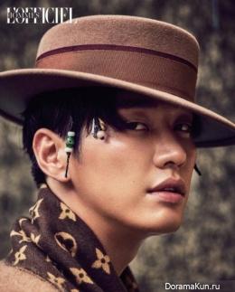 Kim Young Kwang для L'Officiel Hommes September 2017