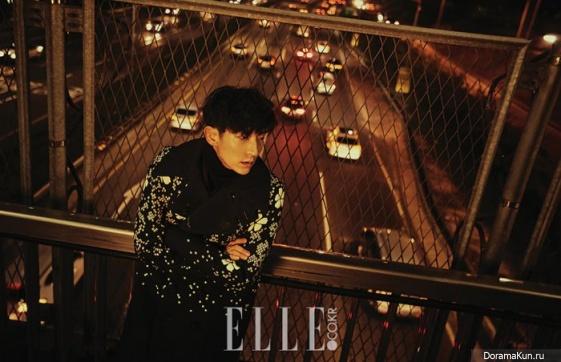 Lee Jun Ki для Elle January 2017