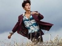 Lee Jun Ki для Marie Claire July 2017