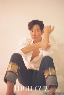Lee Jung Jae для High Cut Vol.198