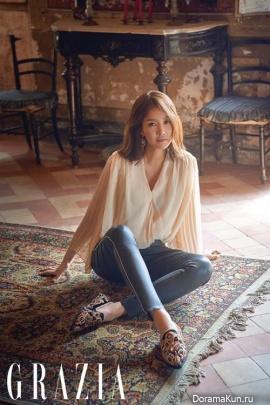 Lee Si Young для Grazia October 2017