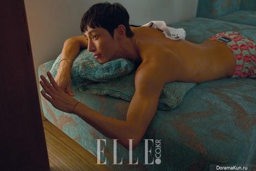 Lee Soo Hyuk для Elle May 2017 Extra