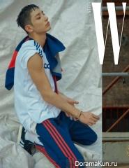 Lee Soo Hyuk для W Korea September 2017
