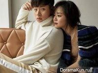 Moon Geun Young, Park Jung Min для Elle December 2016