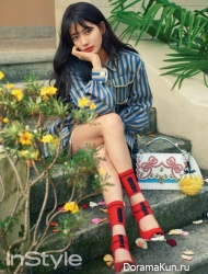 Suzy (Miss A) для InStyle April 2017