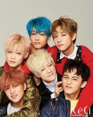 NCT Dream для Ceci August 2017