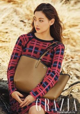 Oh Yeon Seo для Grazia October 2017