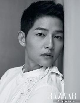 So Ji Sub, Song Joong Ki, Hwang Jung Min, Lee Jung Hyun для Harper's Bazaar July 2017