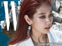 Park Shin Hye для W Korea August 2017