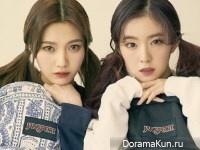 Red Velvet (Irene, Joy) для CeCi February 2017