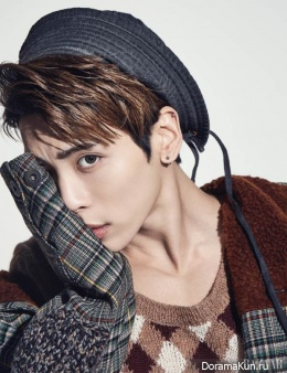 SHINee (Jonghyun) для Harper's Bazaar December 2016
