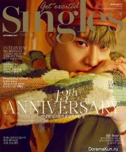 SHINee (Taemin), SNSD (Taeyeon) для Singles September 2017