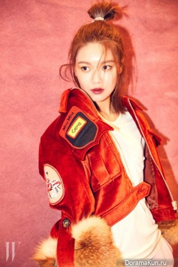 SNSD (Sooyoung) для W Korea November 2016