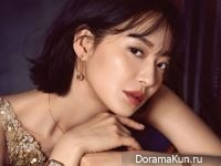Shin Min Ah для Cosmopolitan June 2017