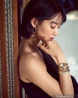 Shin Min Ah для Cosmopolitan June 2017 Extra