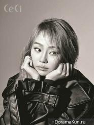 Hyorin (Sistar) для CeCi December 2016