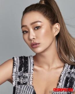 Hyorin для Cosmopolitan September 2017