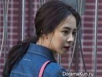 Song Ji Hyo для Singles January 2017