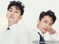 Super Junior (Donghae, Eunhyuk) для Nylon August 2017
