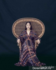 Uhm Ji Won для Marie Claire August 2017