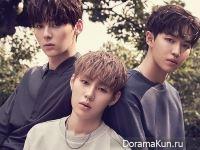 Wanna One для First Look August 2017