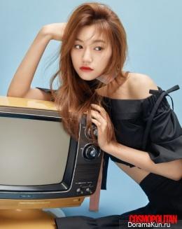 Doyeon (Weki Meki) для Cosmopolitan September 2017