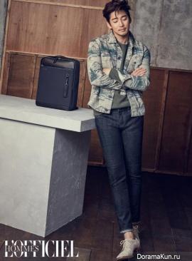 Yoon Kye Sang для L'Officiel Hommes January 2017