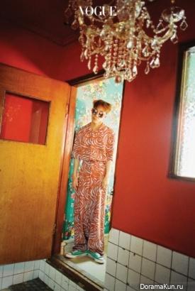 Zion.T для Vogue March 2017