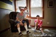 Rap Monster, Jin, V