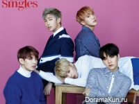 BTS для Singles Magazine