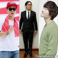 Haha, Gary, Kim Jong Kook
