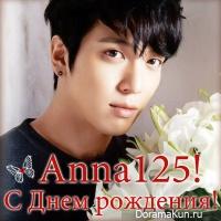 Happy Birthday, Anna125!