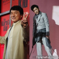 Han Geng, Jackie Chan