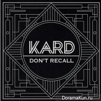 K.A.R.D - Don't Recall