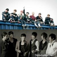 BTS, Shinhwa