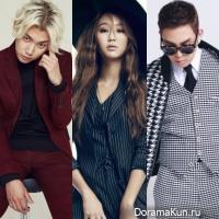 Hyorin, Jooyoung, Bumkey