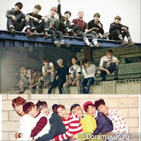 BTS, Monsta X, GOT7