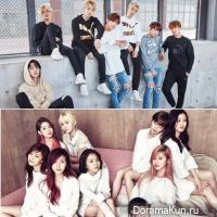 BTS, Twice