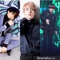 Suga, Jungkook, Jin