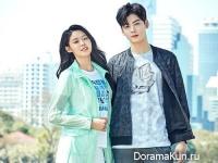 Seolhyun из AOA и Chan Eun Woo из ASTRO для Lafuma